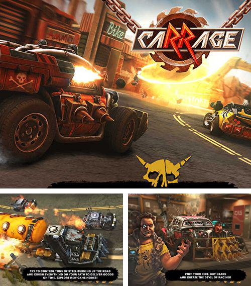In addition to the game Warplanes: WW2 dogfight for iPhone, iPad or iPod, you can also download Car rage for free.