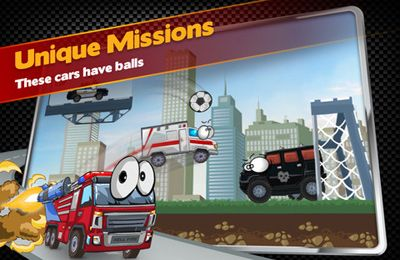 Screenshots of the Car Toons! game for iPhone, iPad or iPod.
