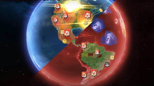 Capturas de pantalla del juego Carbon warfare para iPhone, iPad o iPod.