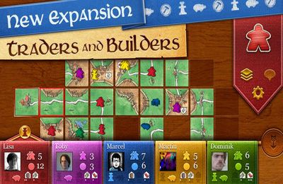 Free Carcassonne download for iPhone, iPad and iPod.