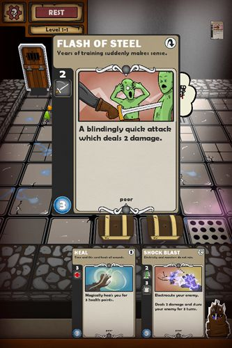 Descarga gratuita de Card dungeon para iPhone, iPad y iPod.