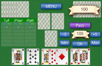 Screenshots of the Card game 1000 game for iPhone, iPad or iPod.