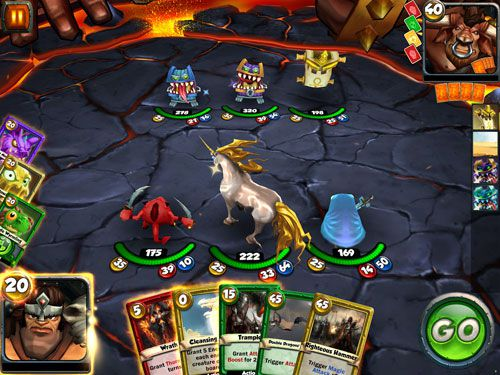 下载免费 iPhone、iPad 和 iPod 版Card king: Dragon wars。