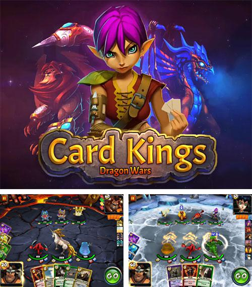 除了 iPhone、iPad 或 iPod 游戏,您还可以免费下载Card king: Dragon wars, 。