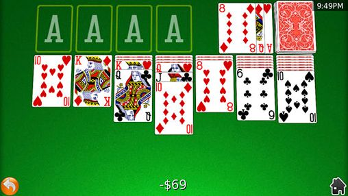 Screenshots of the Card shark: Deluxe game for iPhone, iPad or iPod.