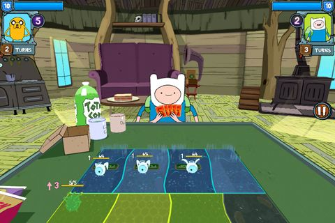 Скачати гру Card wars: Adventure time для iPad.