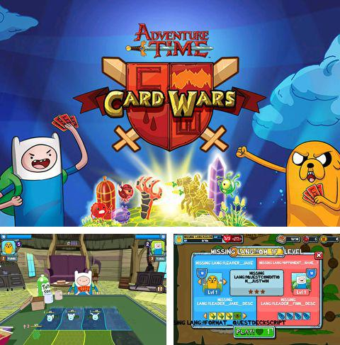 In addition to the game Saving Yello for iPhone, iPad or iPod, you can also download Card wars: Adventure time for free.