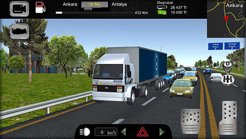 Écrans du jeu Cargo simulator 2019: Turkey pour iPhone, iPad ou iPod.