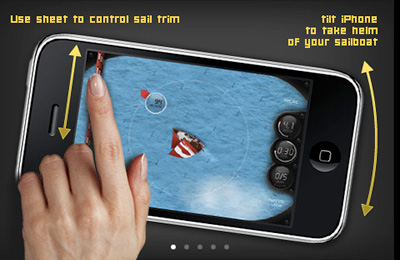 Download Caribbean Racing Sailing multiplayer iPhone free game.