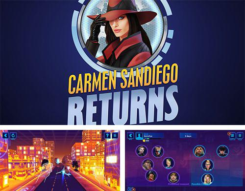 In addition to the game Milk  the cow pro for iPhone, iPad or iPod, you can also download Carmen Sandiego returns for free.