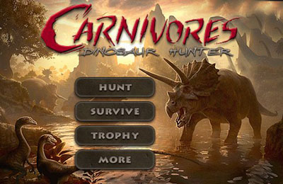 carnivores dinosaur hunter iphone game free download ipa for