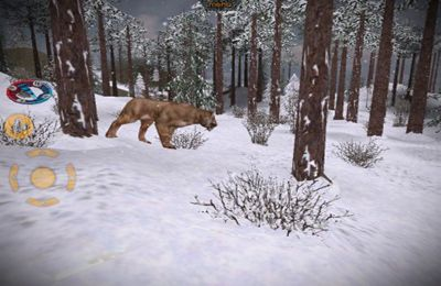 Screenshots of the Carnivores: Ice Age game for iPhone, iPad or iPod.
