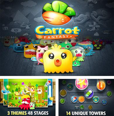 In addition to the game Tires of fury for iPhone, iPad or iPod, you can also download Carrot Fantasy for free.