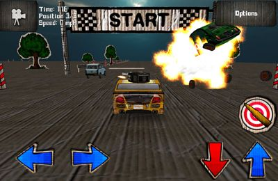 Capturas de pantalla del juego Cars And Guns 3D para iPhone, iPad o iPod.