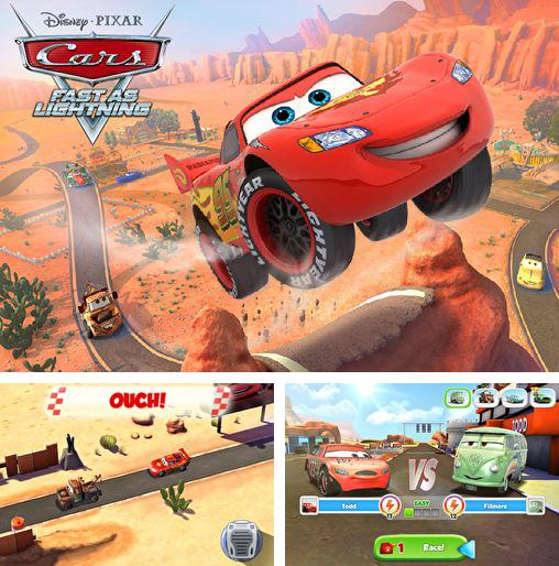 In addition to the game Type: Rider for iPhone, iPad or iPod, you can also download Cars: Fast as lightning for free.