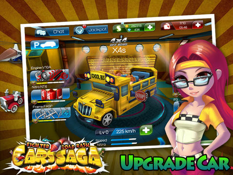 Скачать Cars Saga: Fighter Road Rash на iPhone бесплатно