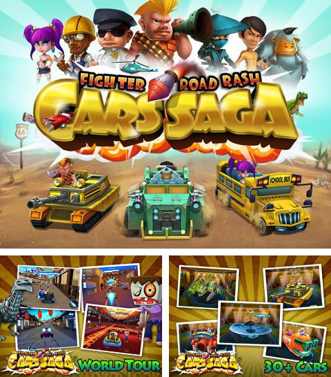 Download Cars Saga: Fighter Road Rash iPhone free game.