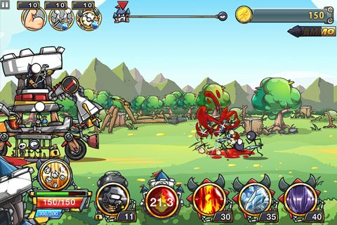 Free Cartoon defense 4: Revenge download for iPhone, iPad and iPod.