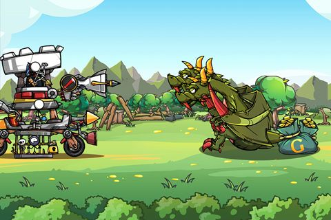 Screenshots of the Cartoon defense 4: Revenge game for iPhone, iPad or iPod.