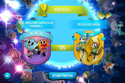 Download Cartoon Network superstar soccer iPhone free game.