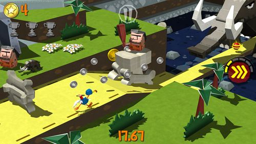 Screenshots vom Spiel Cartoon survivor für iPhone, iPad oder iPod.