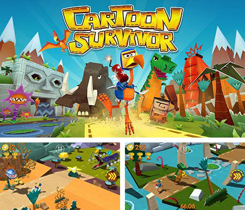 En plus du jeu Percée spatiale  pour iPhone, iPad ou iPod, vous pouvez aussi télécharger gratuitement Survie des cartoons: Aventures du jurassique, Cartoon survivor: Jurassic adventure.