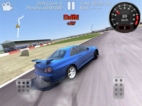 Screenshots do jogo CarX: Drift racing para iPhone, iPad ou iPod.