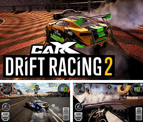 除了 iPhone、iPad 或 iPod 游戏,您还可以免费下载CarX drift racing 2, 。
