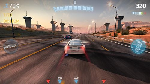 Screenshots of the CarX highway racing game for iPhone, iPad or iPod.