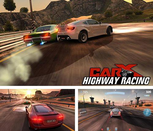 In addition to the game Snow leopard simulator for iPhone, iPad or iPod, you can also download CarX highway racing for free.