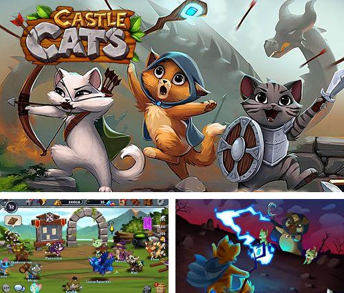 In addition to the game Arcane citadel: Duel of mages for iPhone, iPad or iPod, you can also download Castle cats for free.