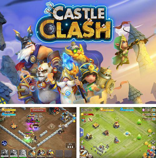 In addition to the game Future war: Reborn for iPhone, iPad or iPod, you can also download Castle clash for free.