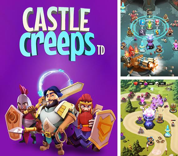 In addition to the game Z.I.D 2 : ZOMBIES IN DARK 2 for iPhone, iPad or iPod, you can also download Castle creeps TD for free.