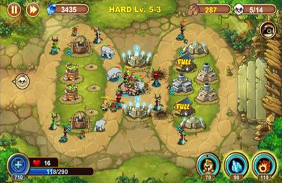 Screenshots vom Spiel Castle Defense für iPhone, iPad oder iPod.