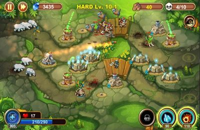 Écrans du jeu Castle Defense pour iPhone, iPad ou iPod.