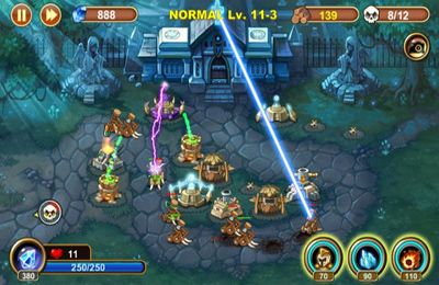 Screenshots do jogo Castle Defense para iPhone, iPad ou iPod.