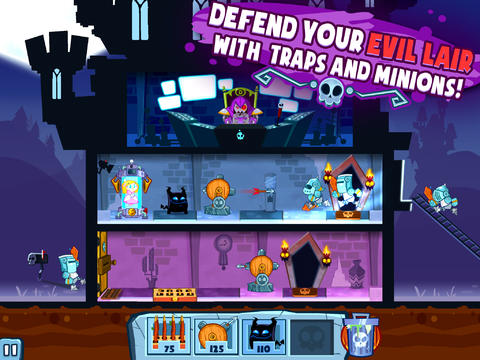 Download Castle doombad iPhone free game.