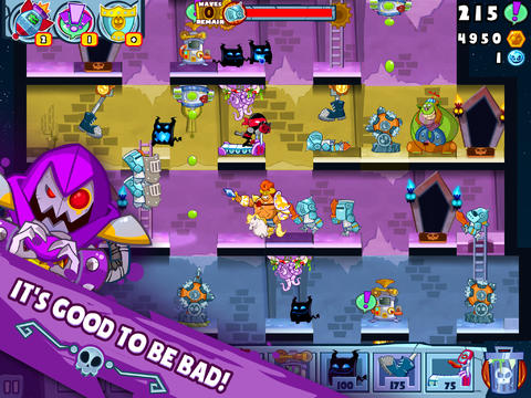 Screenshots of the Castle doombad game for iPhone, iPad or iPod.