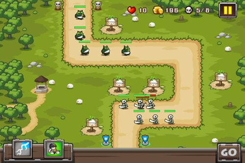 Screenshots vom Spiel Castle of defense für iPhone, iPad oder iPod.