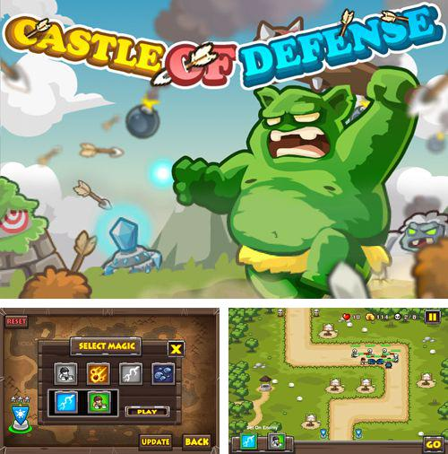 除了 iPhone、iPad 或 iPod 游戏,您还可以免费下载Castle of defense, 。