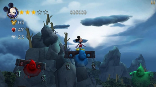 Скриншот игры Castle of Illusion Starring Mickey Mouse на Айфон.