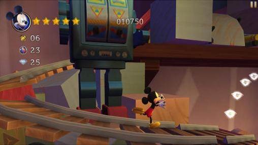 Écrans du jeu Castle of Illusion Starring Mickey Mouse pour iPhone, iPad ou iPod.