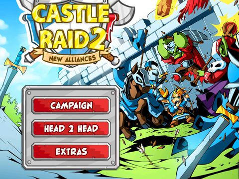 Download Castle Raid 2 iPhone free game.