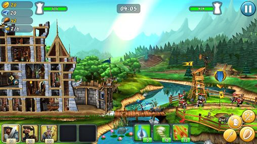 Download Castle storm: Free to siege iPhone free game.