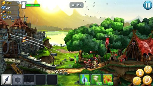 Screenshots of the Castle storm: Free to siege game for iPhone, iPad or iPod.