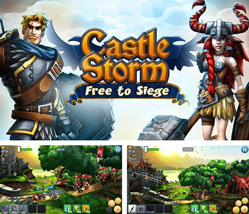 In addition to the game Kingdoms Fall for iPhone, iPad or iPod, you can also download Castle storm: Free to siege for free.