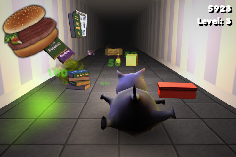 Descarga gratuita de Cat Dash para iPhone, iPad y iPod.