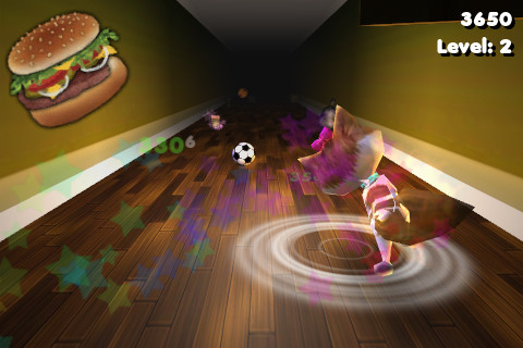 Screenshots do jogo Cat Dash para iPhone, iPad ou iPod.