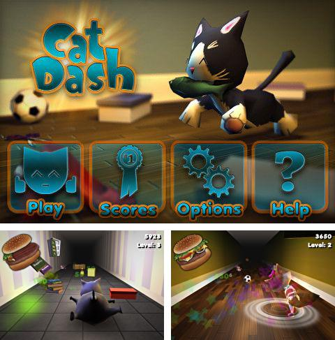 In addition to the game Hero of Magic for iPhone, iPad or iPod, you can also download Cat Dash for free.