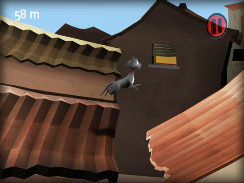 Screenshots vom Spiel Cat Escape für iPhone, iPad oder iPod.